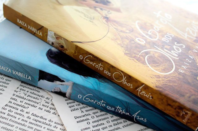 O Garoto dos Olhos Azuis - Trilogia Encantados #01 - Raiza Varella