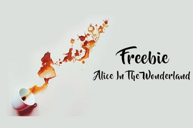 Freebie Wallpaper Alice