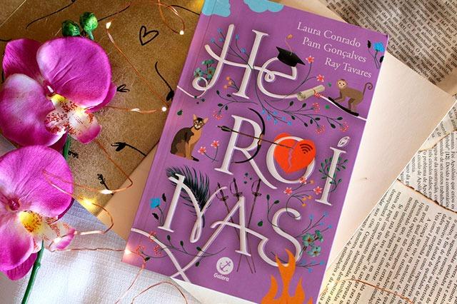 Heroínas - Pam Gonçalves, Laura Conrado & Ray Tavares