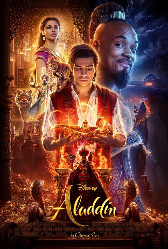 [NOVIDADE] Já está disponível o teaser do live-action do clássico da Disney, o Aladdin!