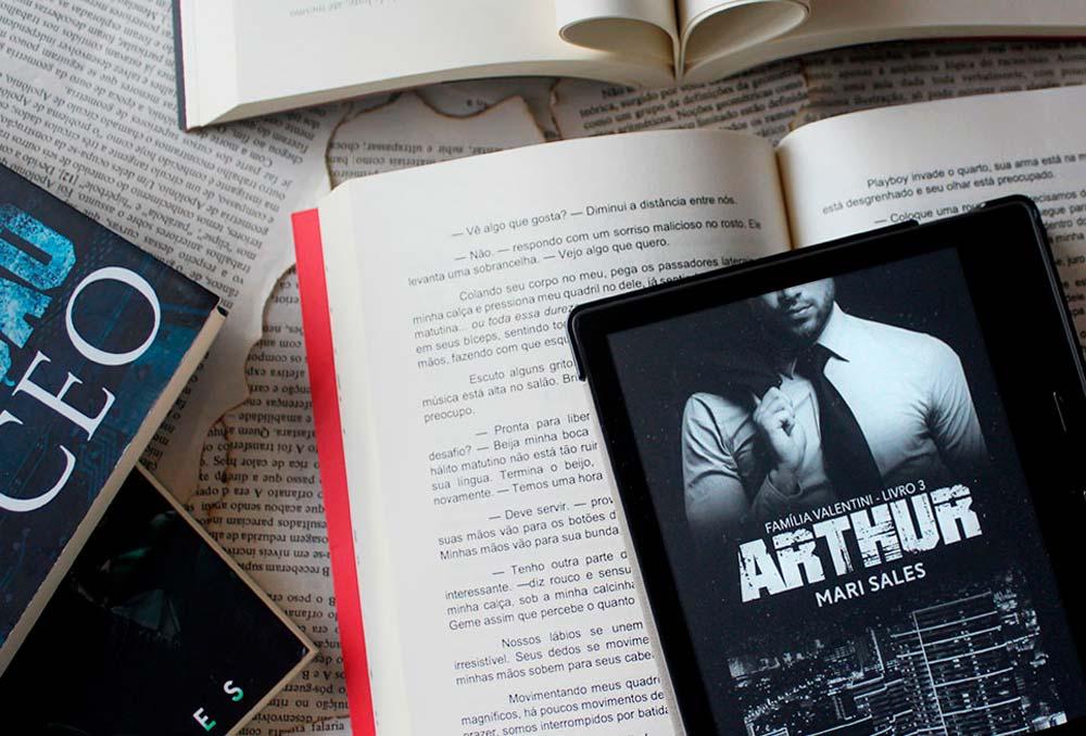 [RESENHA] Arthur - Família Valentini #03 - Mari Sales