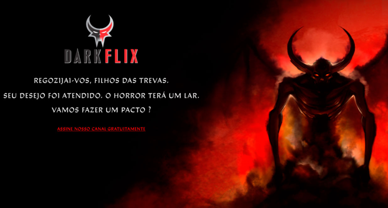 DarkFlix, serviço de streaming de terror, chegará com 666 filmes