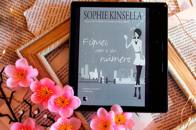 [RESENHA] Fiquei Com o Seu Número - Sophie Kinsella