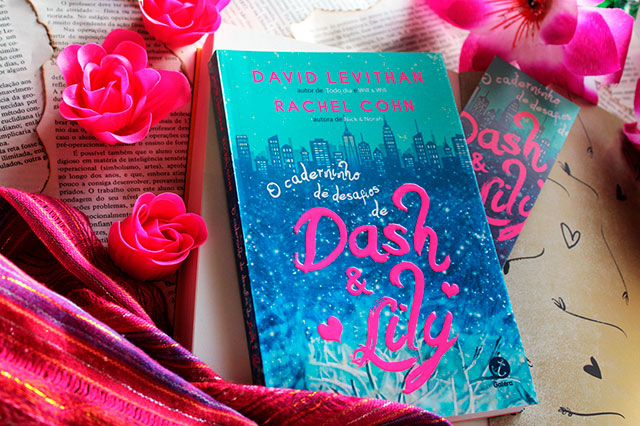 [RESENHA] O caderninho de desafios de Dash e Lily - Dash & Lily #01 - David Levithan & Rachel Cohn