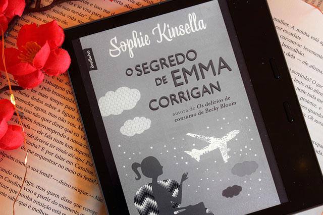 [RESENHA] O Segredo de Emma Corrigan - Sophie Kinsella