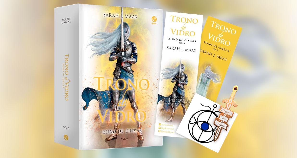 Trono de Vidro, volume 6 já está em pré-venda!
