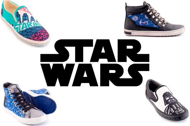 Inkkas lança linha de tênis inspirada em Star Wars