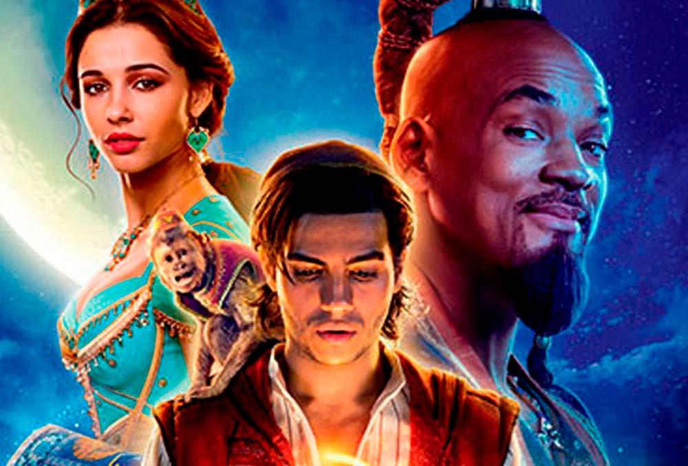 Trilha sonora do live-action em português e inglês de Aladdin
