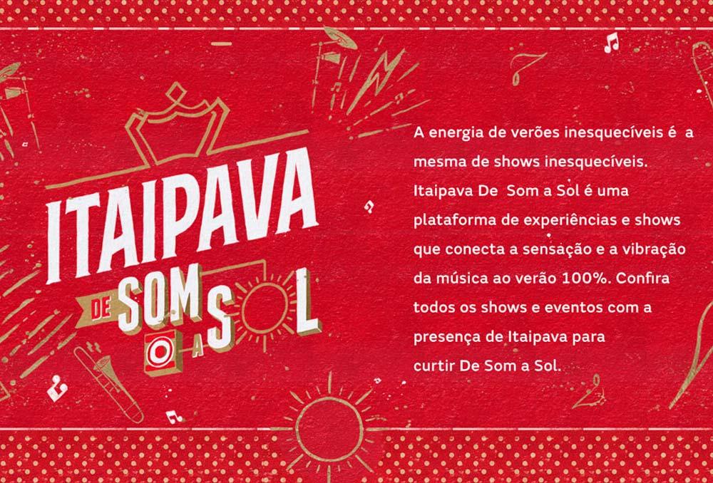 Itaipava de Som a Sol, festival em São Paulo traz Nickelback, Black Eyed Peas e muito mais!
