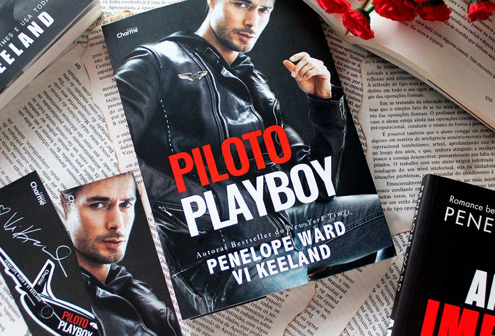 [RESENHA] Piloto Playboy - Penelope Ward & Vi Keeland