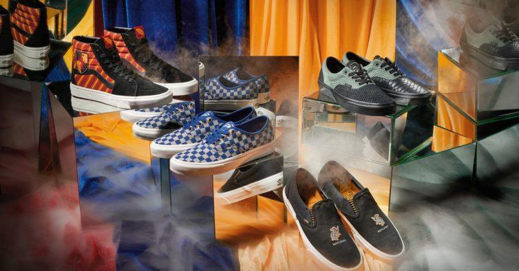 Vans lança sapatilhas em homenagem a Harry Potter