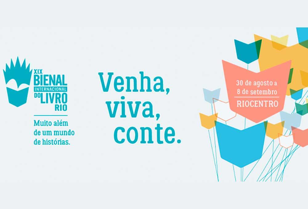 Confira mais alguns autores confirmados para a Bienal do Rio de 2019