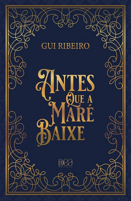Lançamento do livro Antes Que A Maré Baixe, primeira obra do Gui Ribeiro