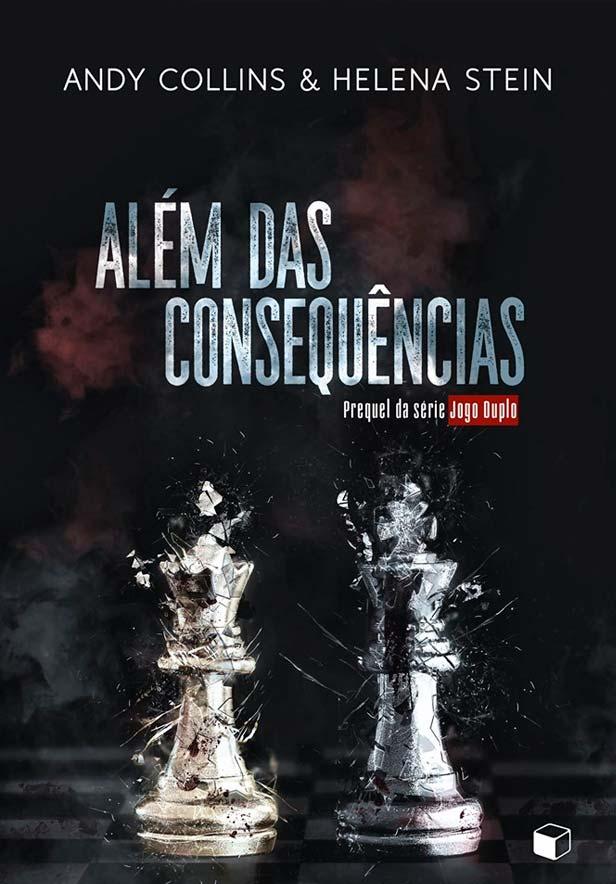 Além das Consequências, da Helena Stein e Andy Collins é mais um lançamento da The Gift Box para a Bienal do Rio