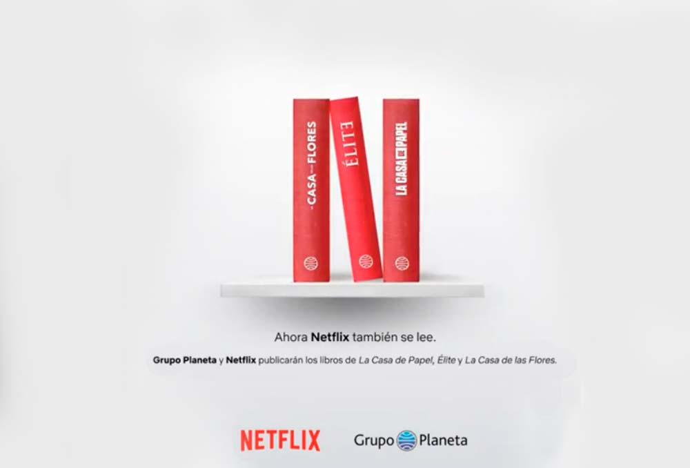 Parceria entre Netflix e Editora Planeta vai transformar algumas séries em livros!