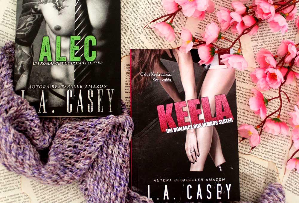 [RESENHA] Keela: Um romance dos Irmãos Slater - Irmãos Slater #2.5 - L.A. Casey