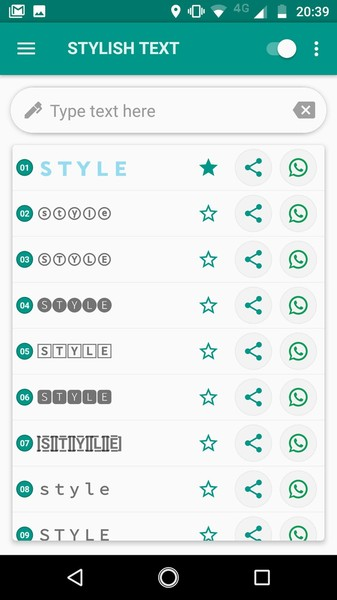 app stylish