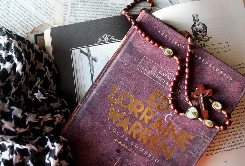[RESENHA] Ed & Lorraine Warren: Lugar Sombrio - Gerald Brittle
