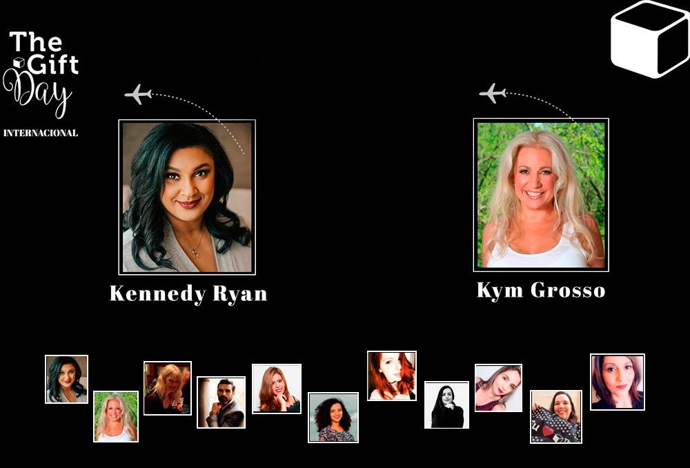 Americana ganhadora do RITA® Awards, Kennedy Ryan, vem ao Brasil em março pela The Gift Box Editora